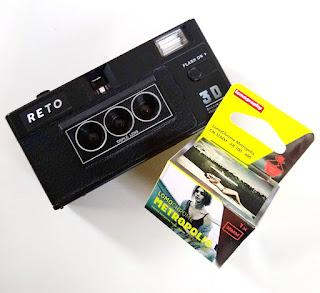 RETO 3DカメラとMETOROPOLISフィルム