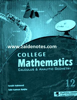 2nd year mathematics keybook pdf class 12 ics fsc