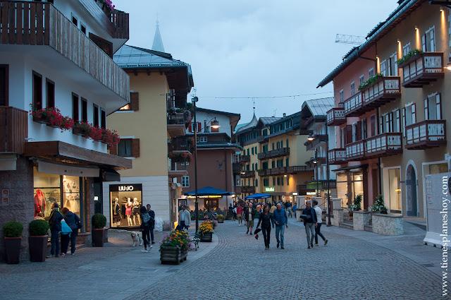Cortina d'Ampezzo viaje Italia Dolomitas