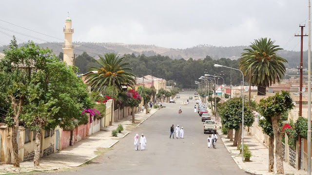 Arabs and Christians in Eritrea walking the same streets