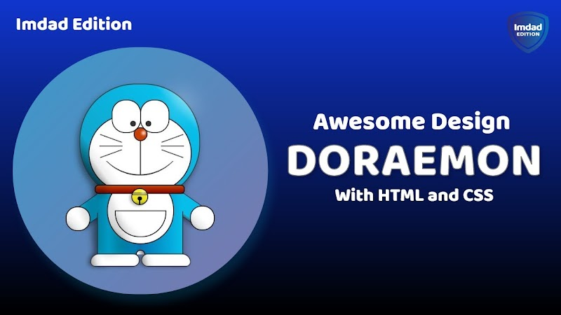 How to Make Doraemon with HTML and CSS
