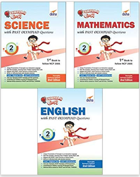 Olympiad Champs for Class 2: Science, Mathematics, English