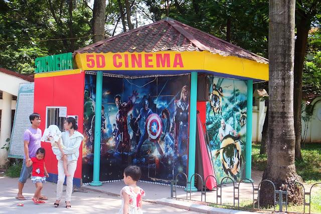 hanoi-zoo-5d-cinema ハノイ動物園5D映画館