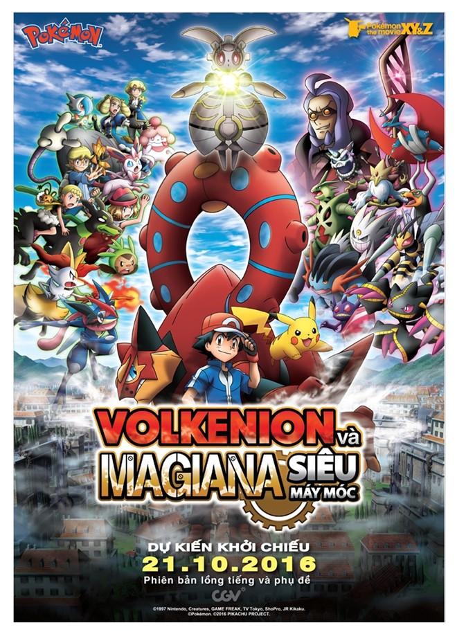 Pokémon: Volkenion Và Magiana Siêu Máy Móc
