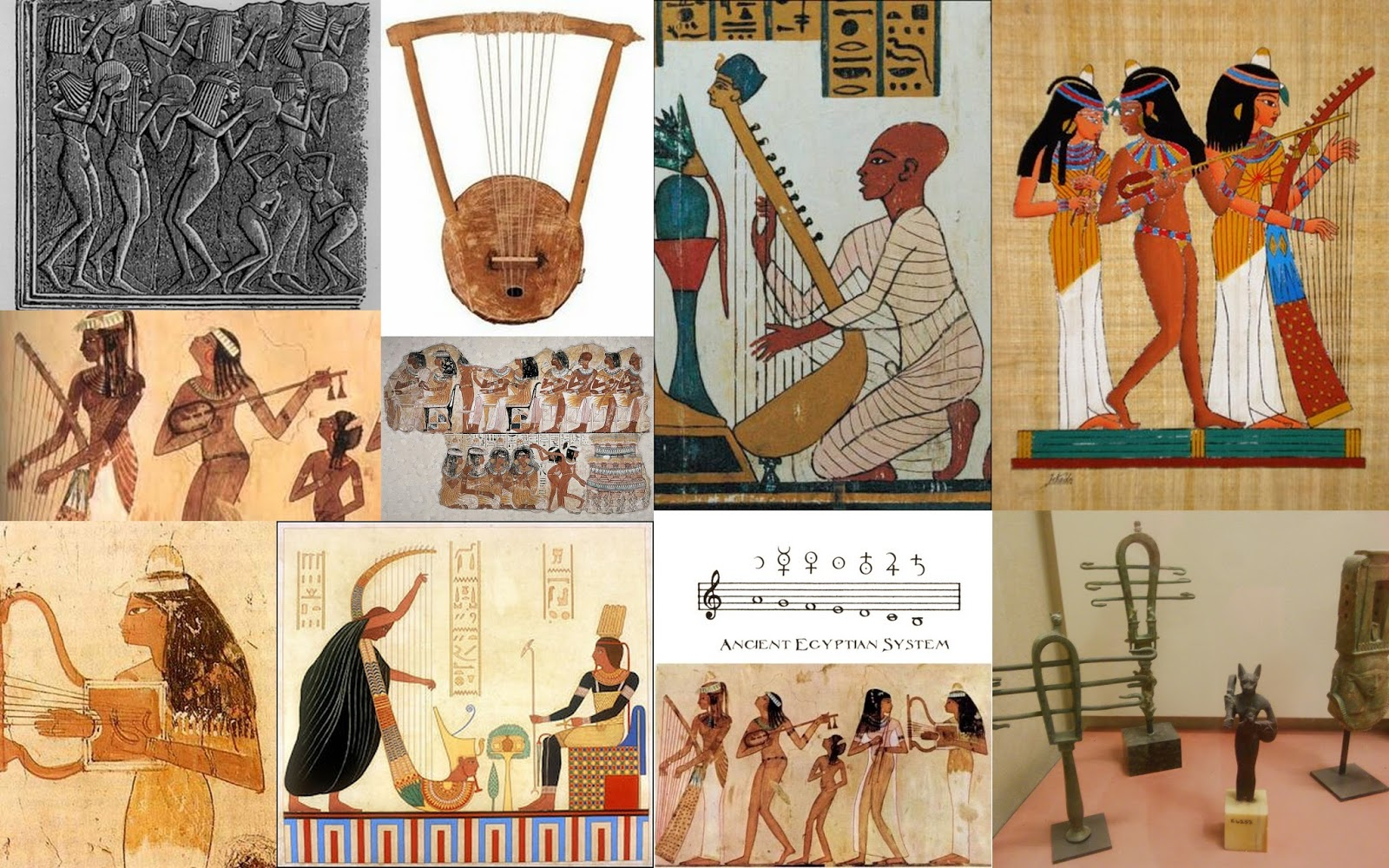 I should be writing: Music from Ancient Egypt (a video)
