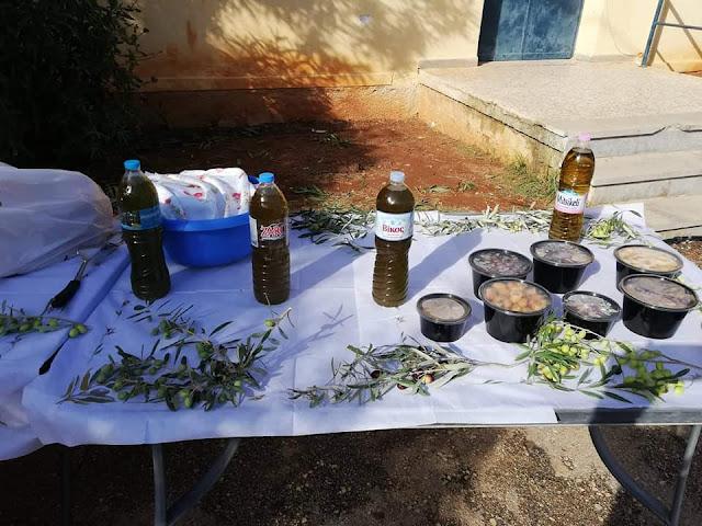 Το χρυσάφι του τόπου μας γεύτηκαν οι μαθητές του Δημοτικού Σχολείου Κιβερίου
