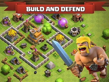 Clash of Clans Apk 10.134.11 Mod Money