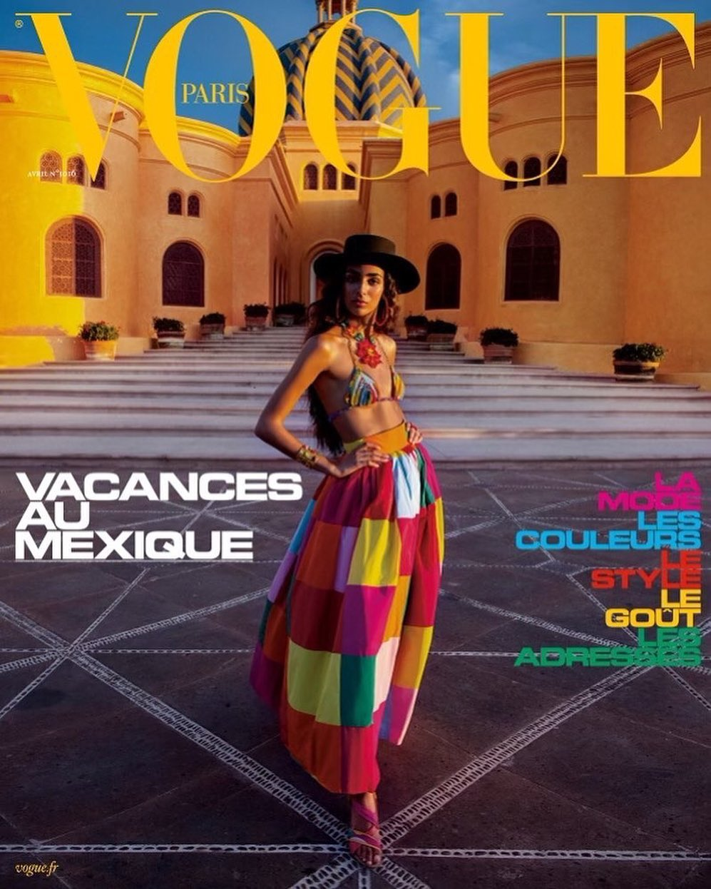 Nora Attal is whimsical for Vogue Paris April 2021