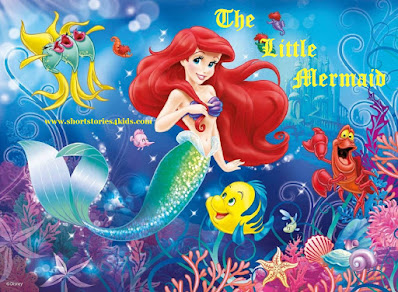 The Little Mermaid Short Story with Pictures and PDF