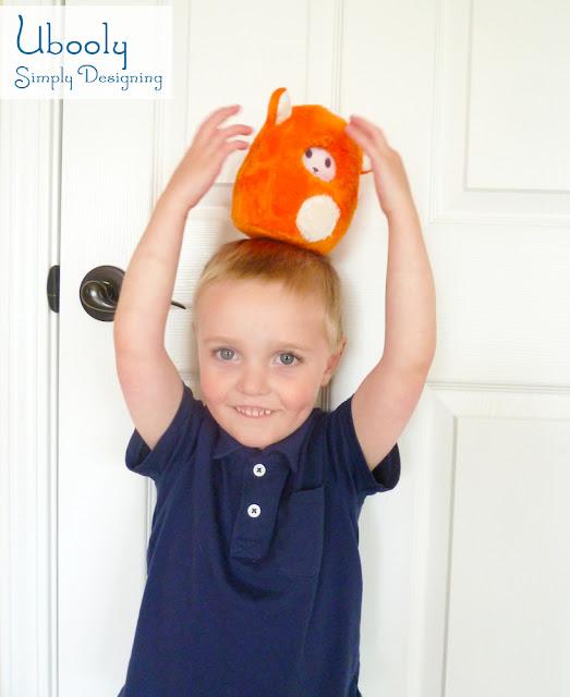 Ubooly on head Ubooly Educational Toy GIVEAWAY #UboolyLab #spon 17
