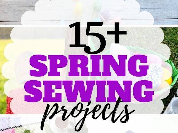 15+ Free Spring Sewing Patterns