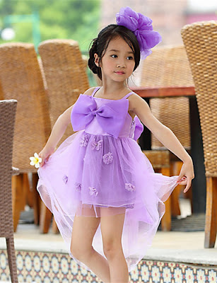Vestidos de gala para niñas Cortos