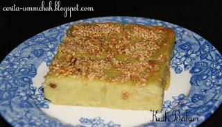 Kuih Bakar Recipe Kitchen Snippet