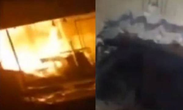 Textile shop set ablaze in Malappuram, suspected to have lit after theft, Malappuram, News, Local-News, Burnt, Natives, Police, Case, Probe, Kerala