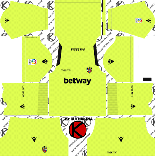 and the package includes complete with home kits Baru!!! Levante UD 2018/19 Kit - Dream League Soccer Kits