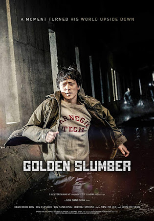 Poster Of Golden Slumber In Dual Audio Hindi Korean 300MB Compressed Small Size Pc Movie Free Download Only At worldfree4u.com