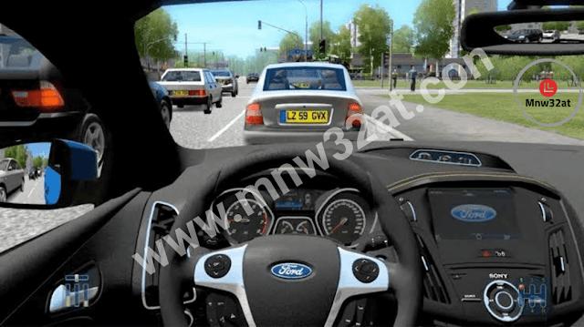 تنزيل لعبة محاكي السيارات City Car Driving للكمبيوتر مجانا برابط مباشر