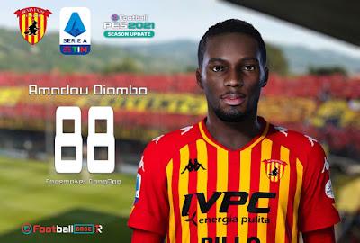 PES 2021 Faces Amadou Diambo by CongNgo
