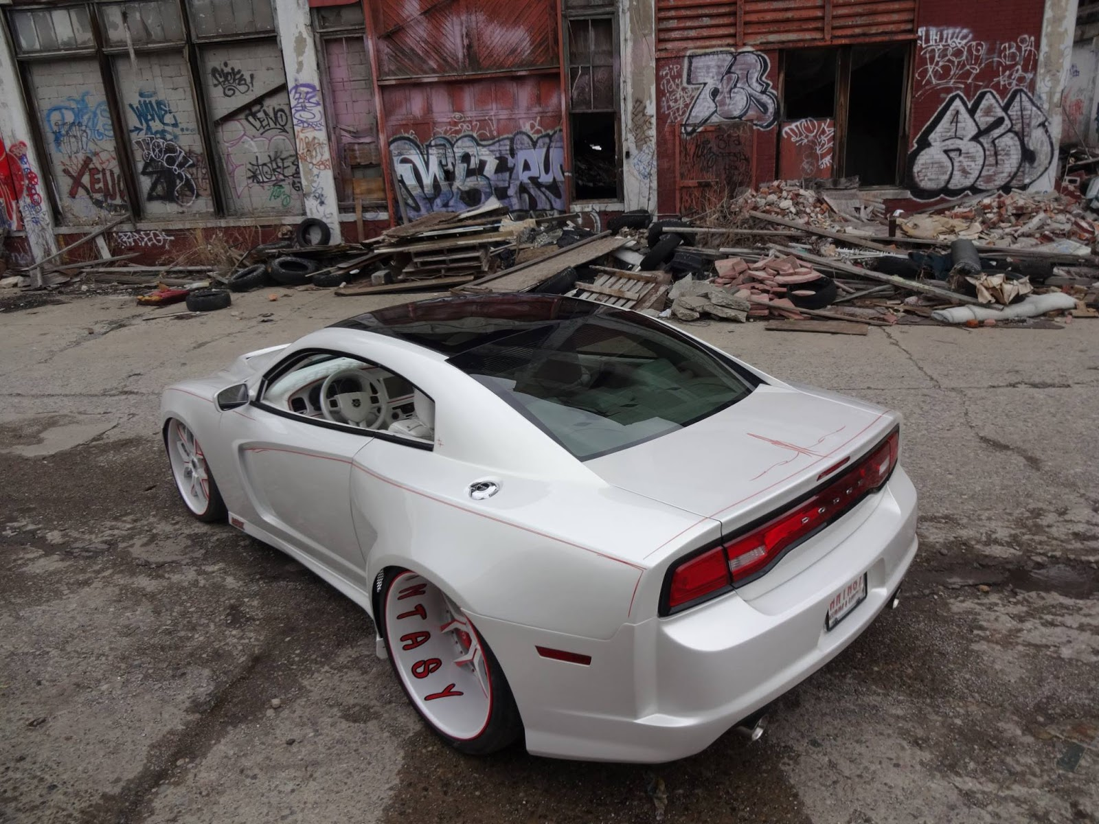 This One Off Dodge Charger Coupe Conversion Is The Anti