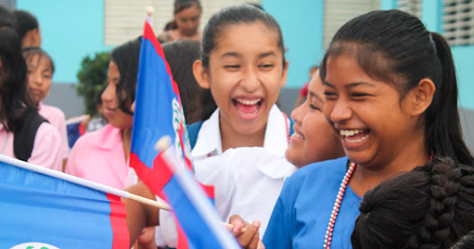 Celebrating independence, Belizean students joy in September