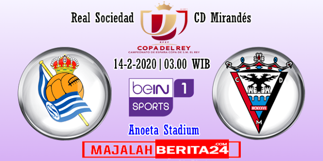 Prediksi Real Sociedad vs Mirandes