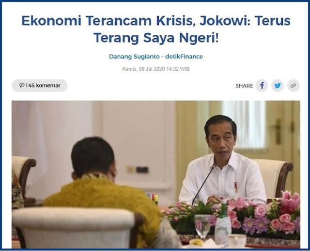 Jokowi Merasa Ngeri, Tapi Ada Yang Lebih Ngeri Loh...