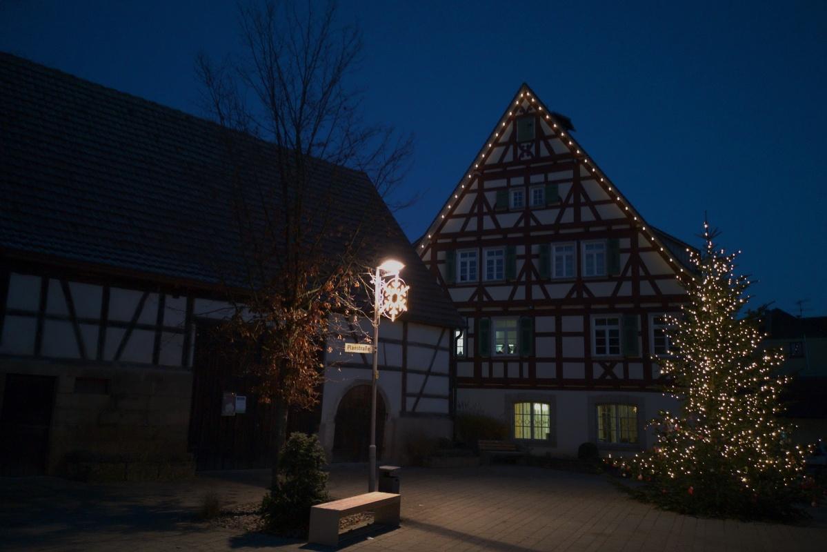 Notfall-Immer-Dabei-Kamera – Weihnachtsstimmung in Neckartenzlingen