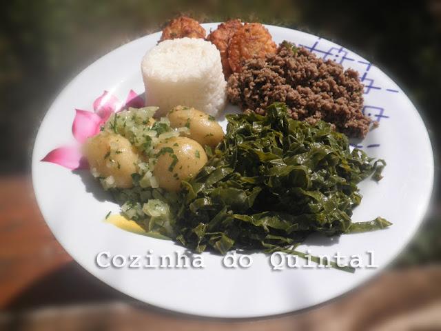 Ideia para cardapio marmitex Cozinha do Quintal