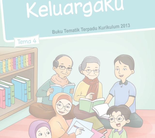 Buku Siswa Kelas 1 SD/MI Tema 4: Keluargaku