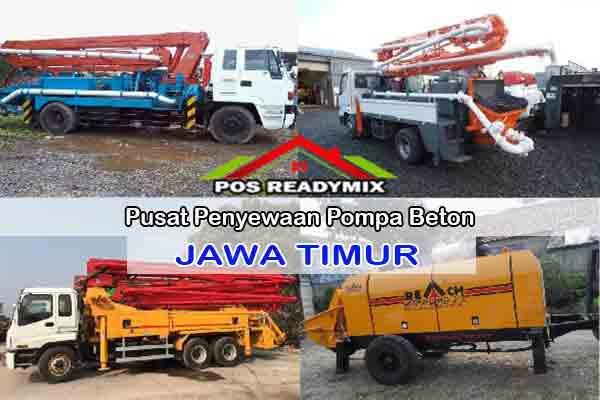 Harga Sewa Pompa Beton Jawa Timur Terbaru 2020