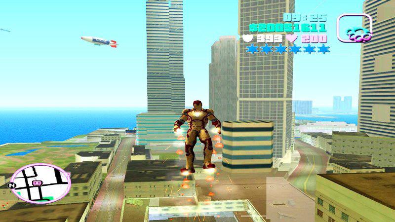 GTA Vice City Iron Man Mod With Powers PC
