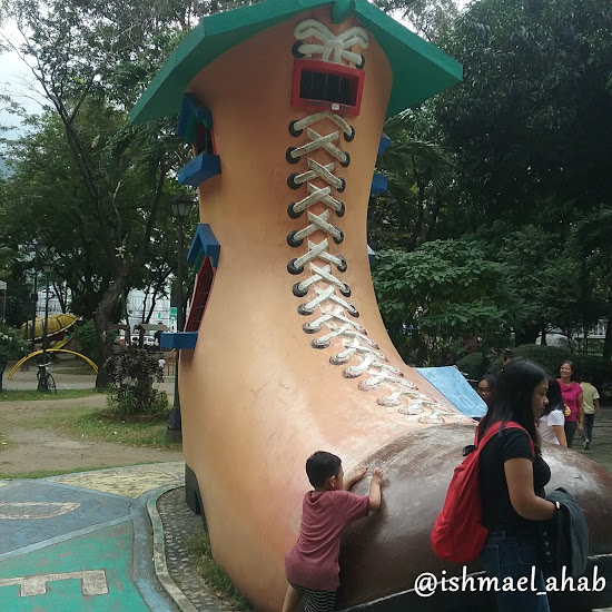 Magical shoe house in Rizal Park Children's Playground