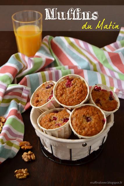 Recette Muffins du matin - muffinzlover.blogspot.fr