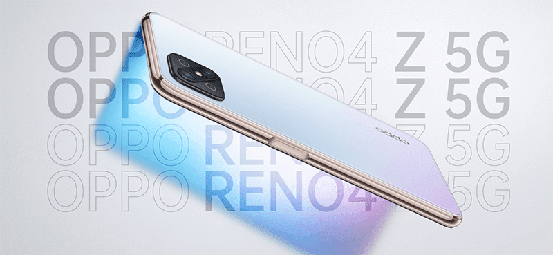 OPPO Reno4 Z 5G with 120Hz screen and Dimensity 800 5G for less is now official