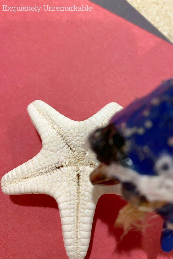 Hot Gluing Starfish Crafts