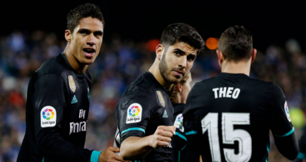 خوف في ريال مدريد بعد غياب رافائيل فاران اليوم