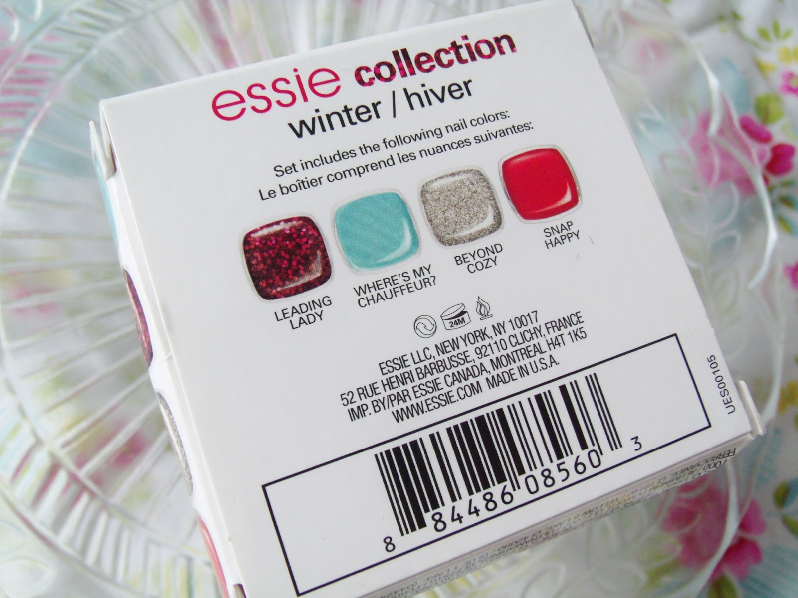 Essie Winter Mini Collection 2012 ♥ | Victoria\'s Vintage Blog