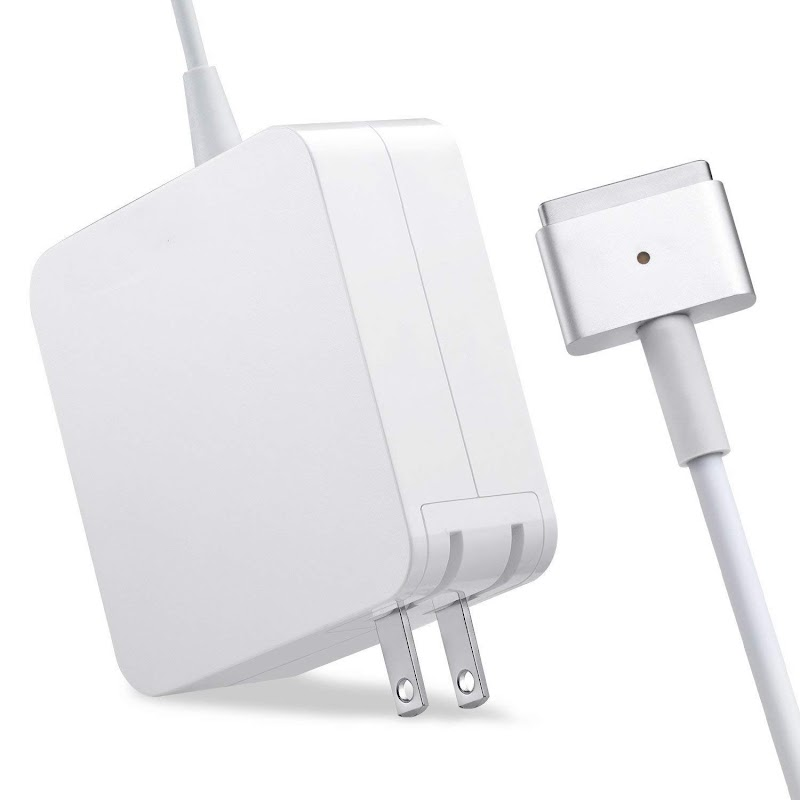 AMAZON - 50% off Mac Book Air Charger, AC 45W Magsafe 2 T-Tip Power Adapter