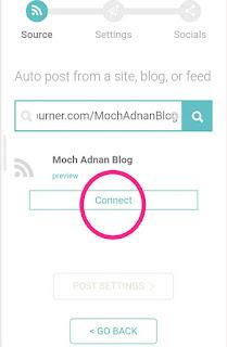 Cara Membagikan Hasil Postingan Blog Ke Akun Jejaring Sosial Secara Otomatis