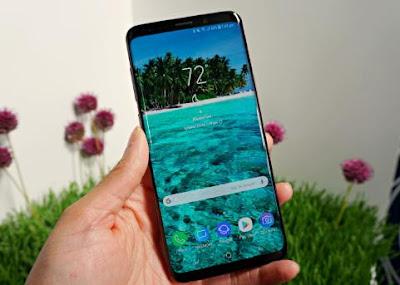 layar Samsung Galaxy S9+