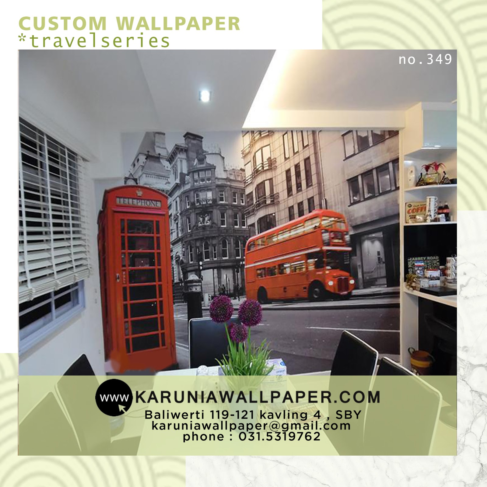 wallpaper custom murah per meter