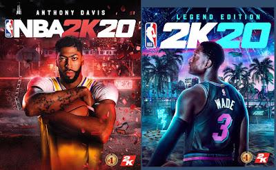 NBA 2K20 edisi Standard dan edisiLegend