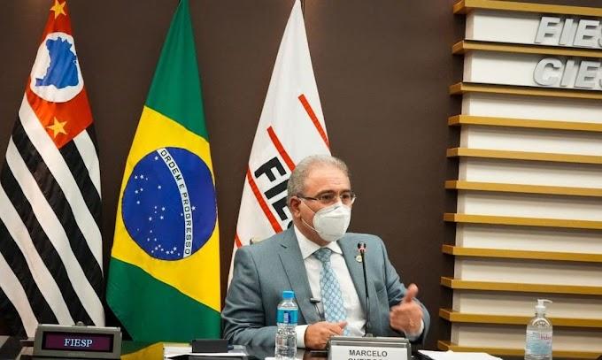 Ministro diz que é possível vacinar toda a população brasileira em 2021