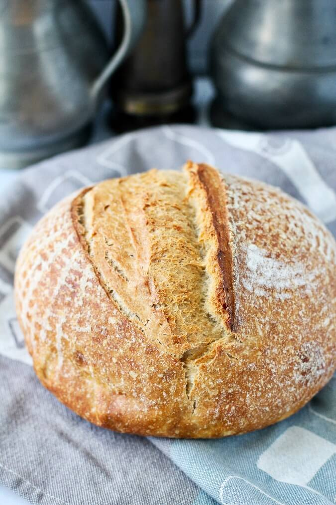 Whipped Spelt Bread with bread flour