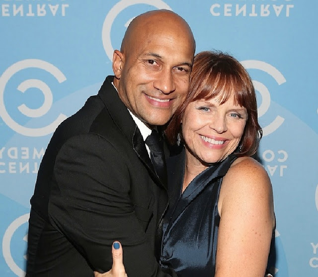 Keegan-Michael Key and Cynthia Blaise