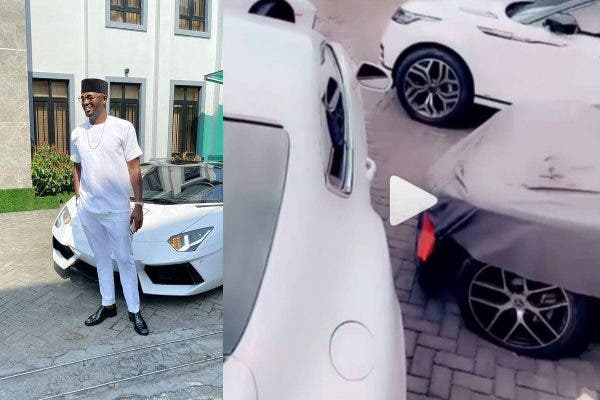 Oil tycoon Joseph Ezeokafor a.k.a Jowizazaa shows off cars that worths millions of naira(Video)