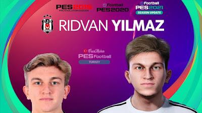PES 2021 Faces Rıdvan Yılmaz by PES Football Turkey