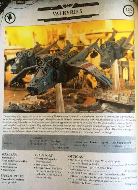 Voladores Astra Militarum