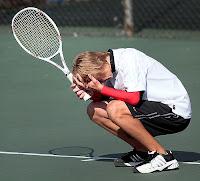 Tenis Derrota