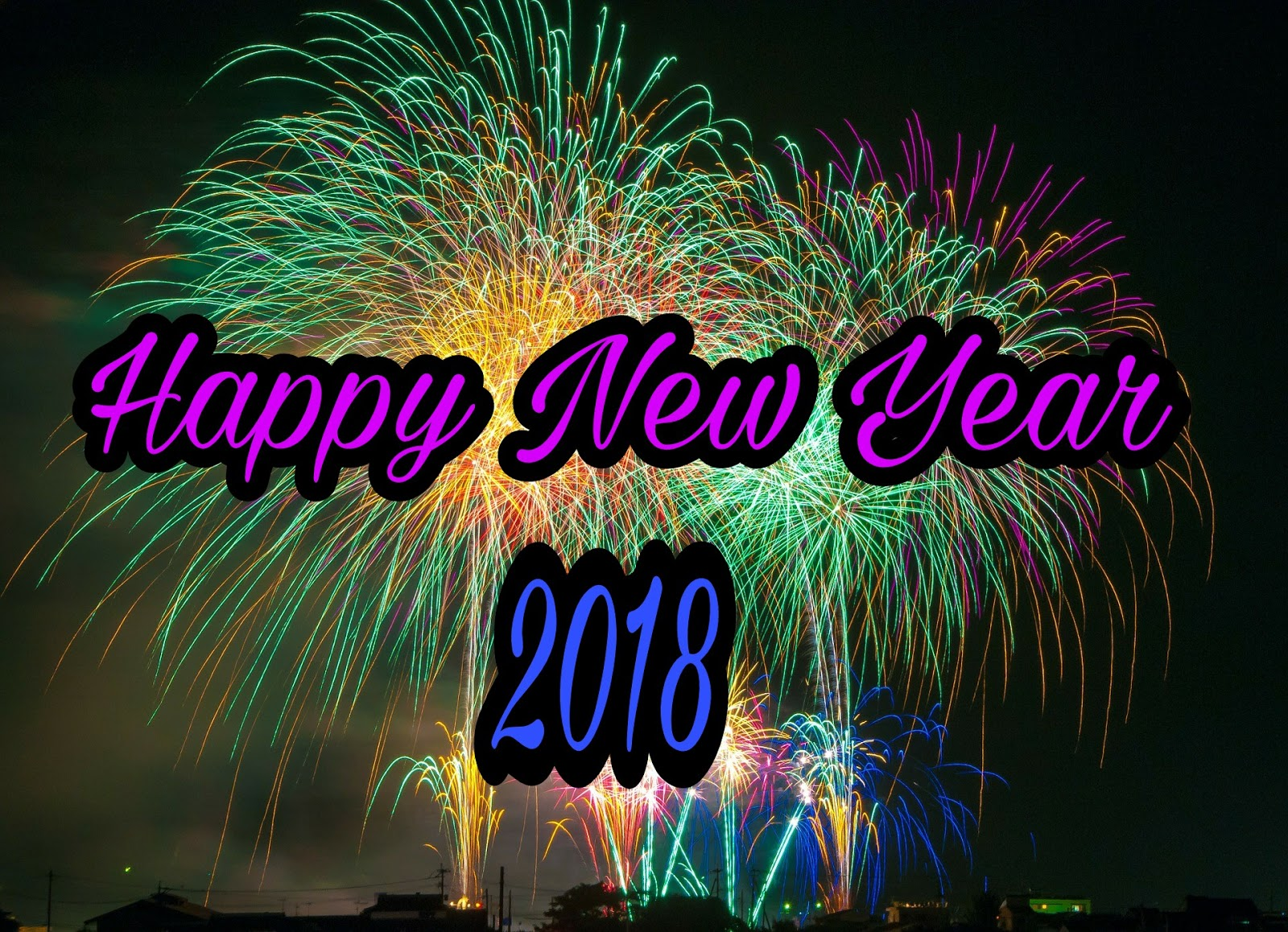 Top 25 Best Happy New Year Wishes Sms In English 2018 Happy New